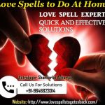 Love spells to do at home