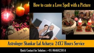 How to caste a love spell with a picture
